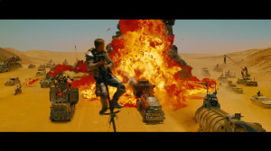 Mad Max - explosions